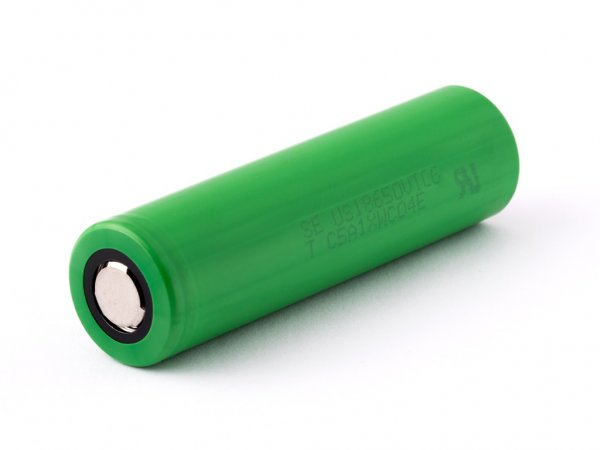 Sony Konion US18650VTC6 - 3120mAh, 3,6V-3,7V Flat Top