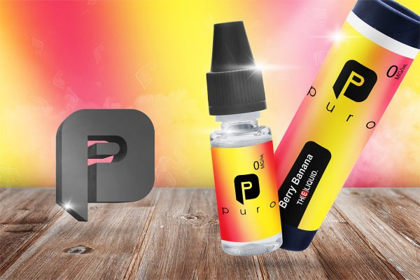 Berry Banana Liquid by Puro Liquids
