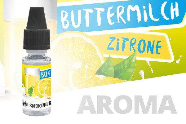 Smoking Bull Aroma - Buttermilch Zitrone