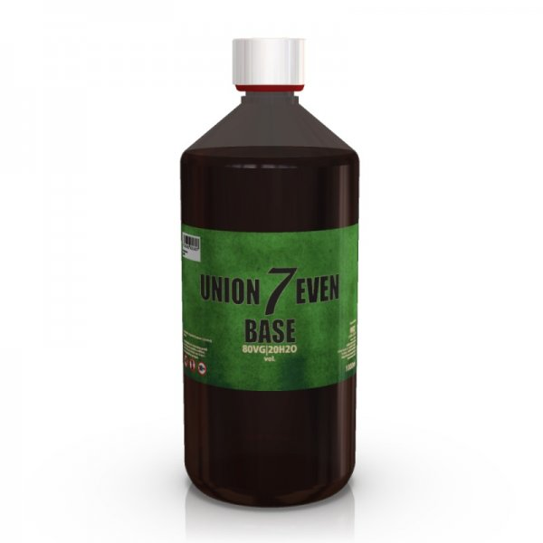 Union 7even Base - 80 VG / 20 H2O - 1000 ml