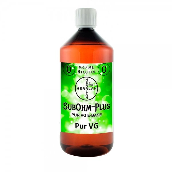 Base SubOhm-Plus (VG) 1 Liter PET